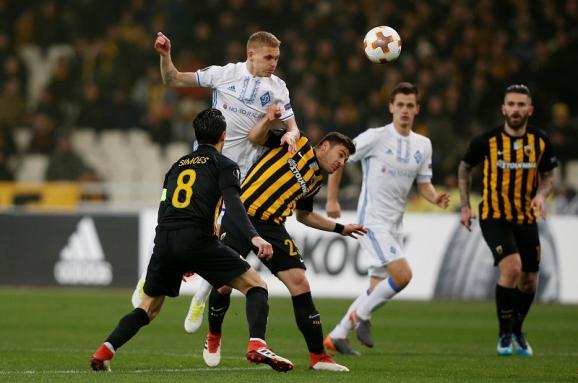 «Динамо» — АЕК. Все о матче 1/16 финала Лиги Европы