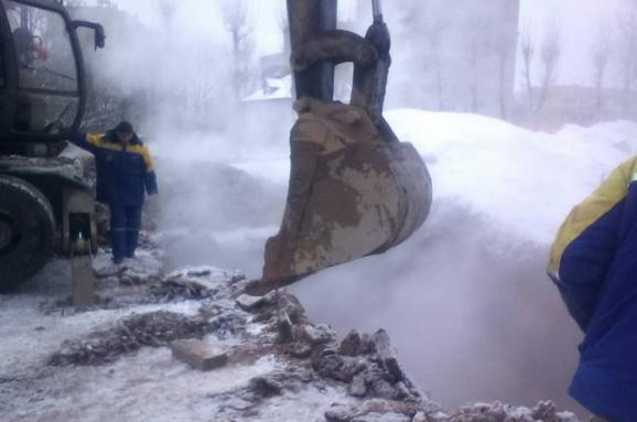 Аварія натеплотрасі Харкова: температура уквартирах знизилася до15 градусів тепла