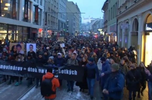 Политический шторм на Дунае. Как убийство словацкого журналиста всколыхнуло страну