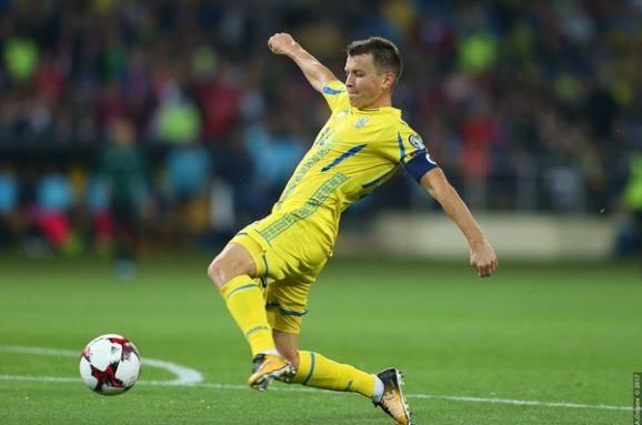 Ротань провів 100-й матч зазбірну України