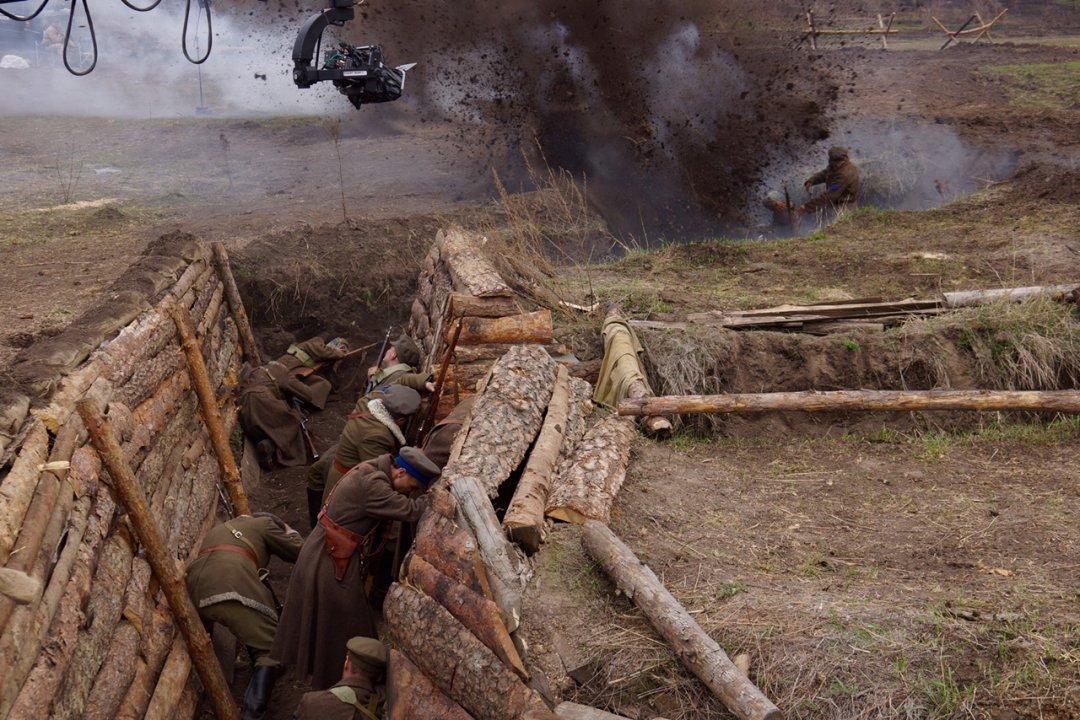 Відразу троє відомих прикарпатських акторів зіграли головні ролі у новому історичному фільмі про Симона Петлюру (фото+відео)