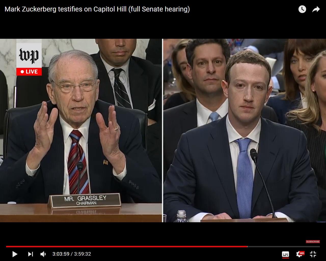 Обвиняется Facebook. Как Марка Цукерберга допрашивали в Конгрессе об алгоритмах соцсети