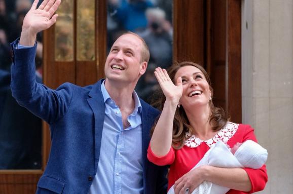 Офіційно: Кейт Міддлтон і принц Вільям дали ім'я новонародженому сину