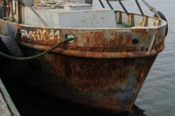 Російські прикордонники затримали українське риболовецьке судно вокупованому Криму,— ДПСУ