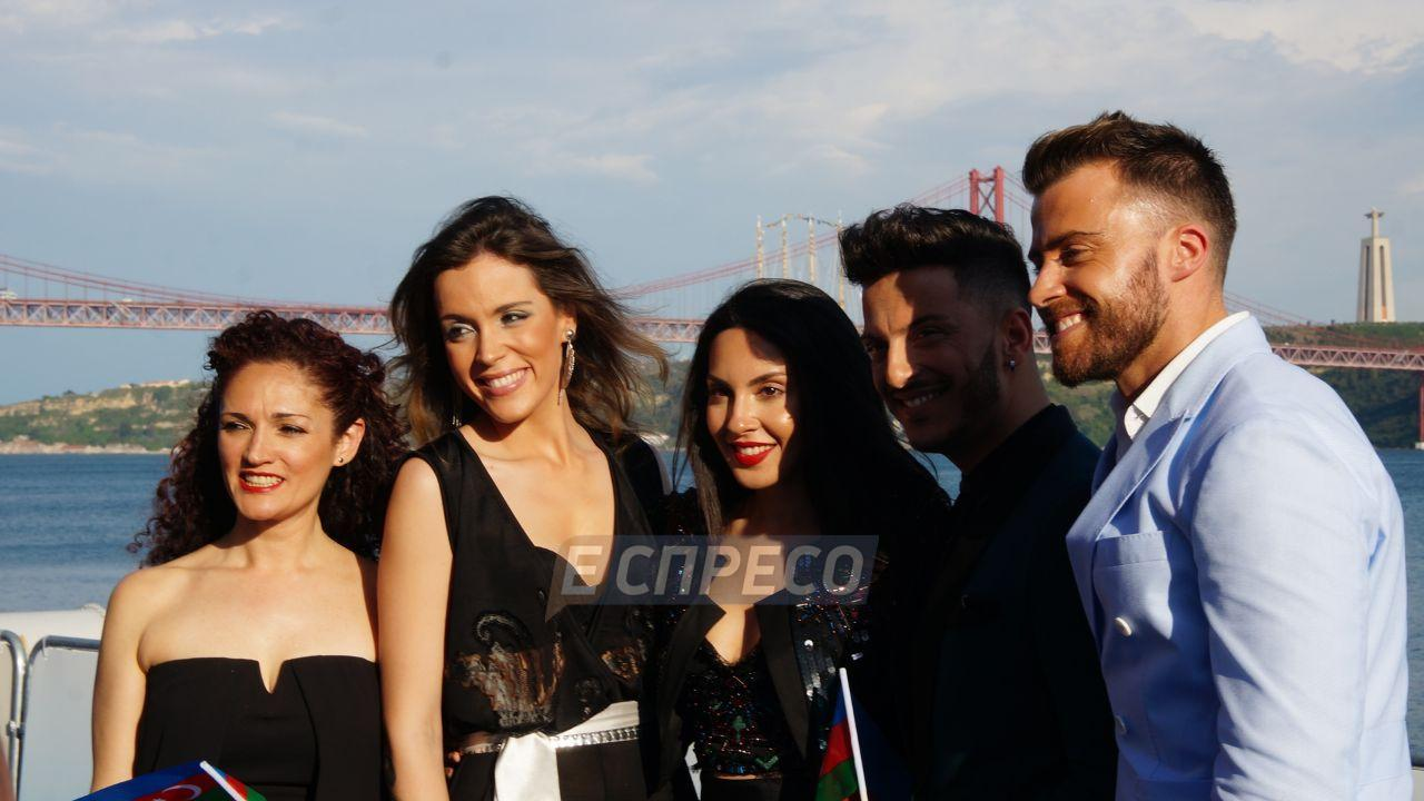 """Появились первые фотографии с """"красной дорожки"""" Евровидения-2018 в Лиссабоне. Эксклюзивный фоторепортаж"""