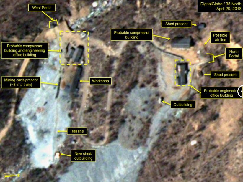 В мережі з'явились фото ядерного полігону в КНДР до та після демонтажу (1)