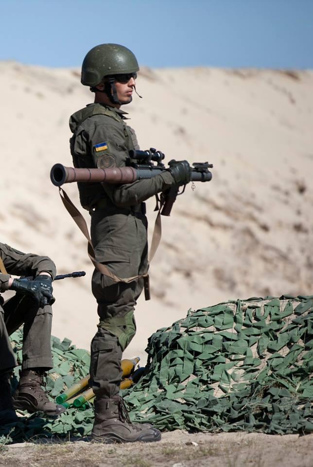 Нацгвардія отримала на озброєння американські гранатомети (фото)