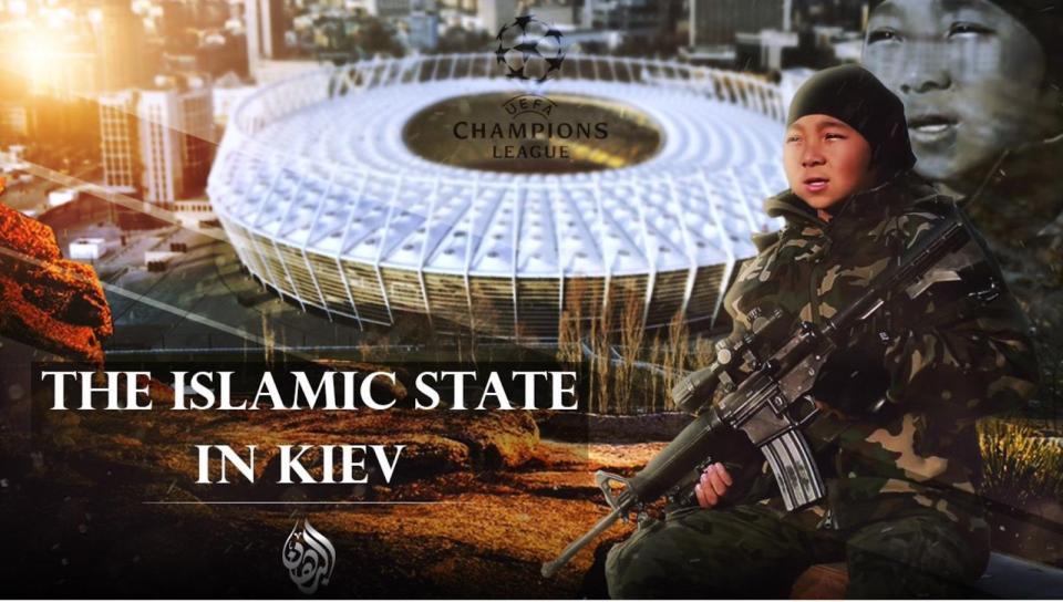 ИГИЛ призывает к терактам на финале Лиги чемпионов в Киеве: опубликованы шокирующие фото (2)