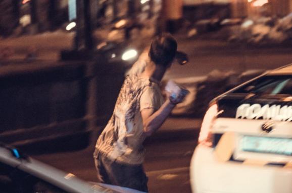 Вночі в центрі Києва сталася бійка за участю фанатів