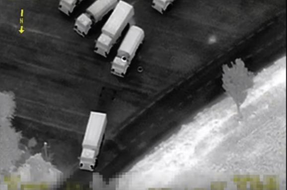 Спостерігачі ОБСЄ зафіксували рух військової техніки з Росії на Донбас