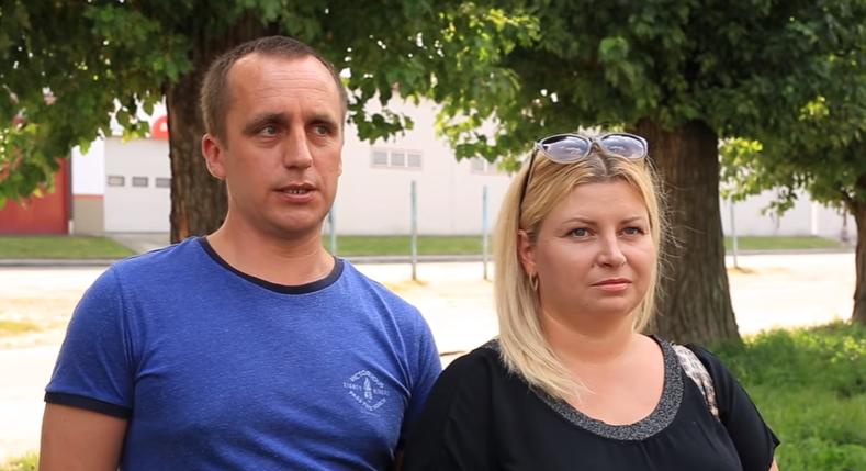 Анна Антонишин і її чоловік Сергій