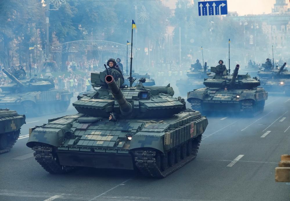 Танки, гелікоптери та винищувачі: як у Києві проходила репетиція до Дня Незалежності (фоторепортаж)