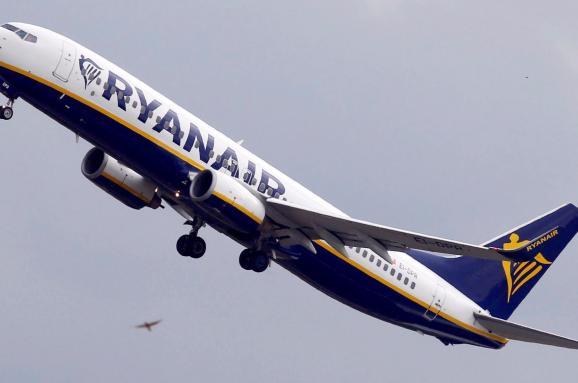 Ryanair запустить 8 рейсів вУкраїну у2019 році