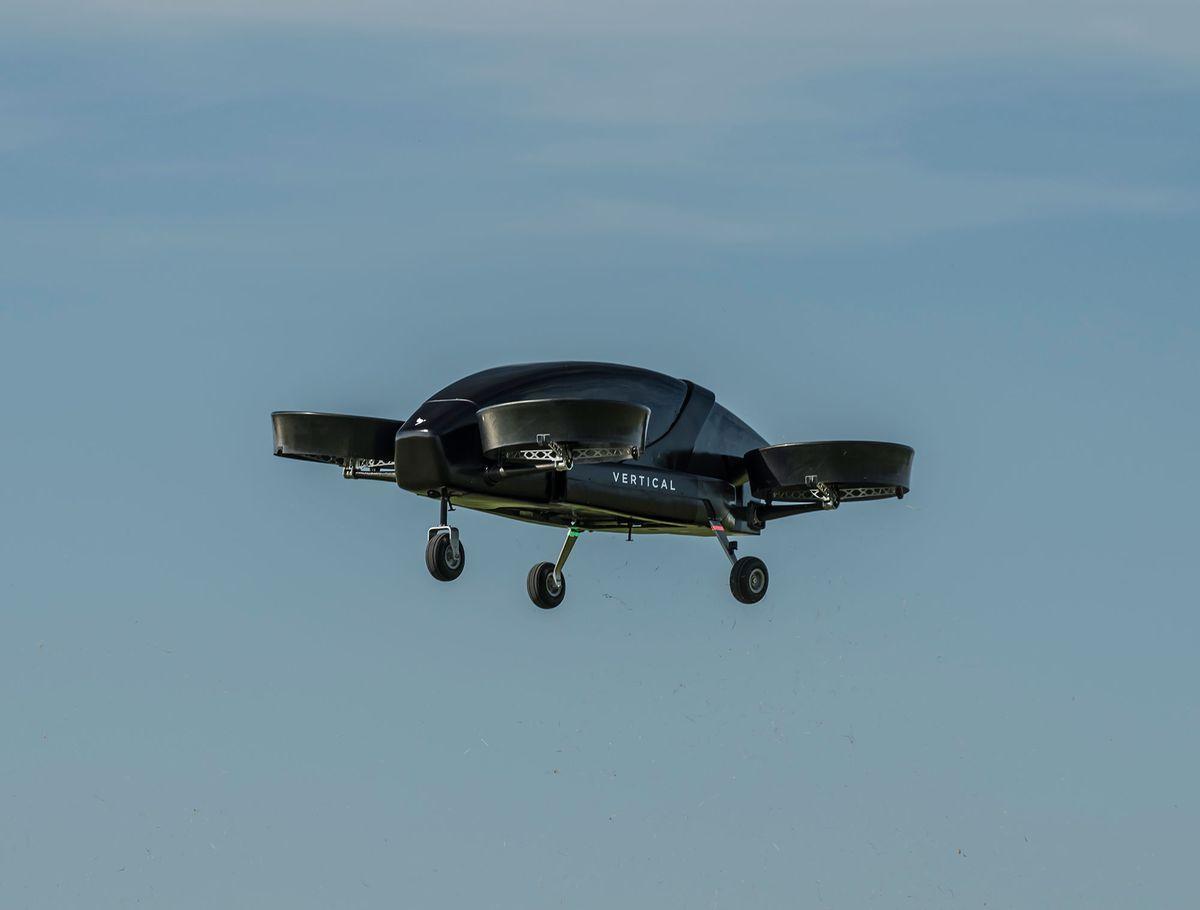 Vertical Aerospace успешно испытал междугороднее летающее такси