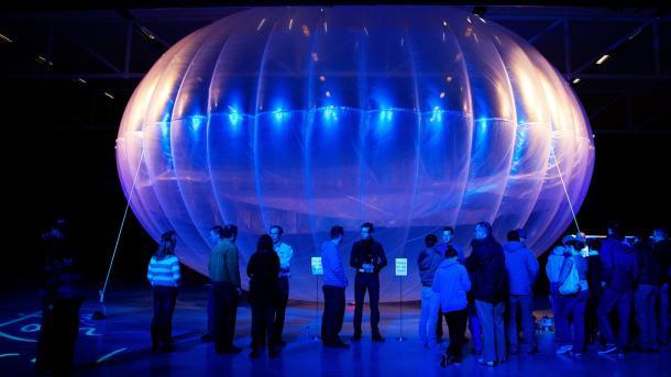 Воздушные шары Alphabet установили рекорд по дальности передачи интернет-сигнала