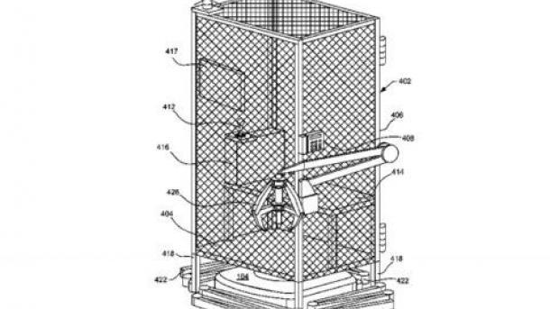 Amazon запатентовала клетки для своих работников