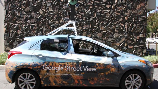 Автомобили Google начнут проверять уровень загрязнения воздуха