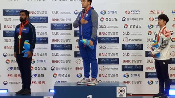 Украинец стал чемпионом мира по стрельбе