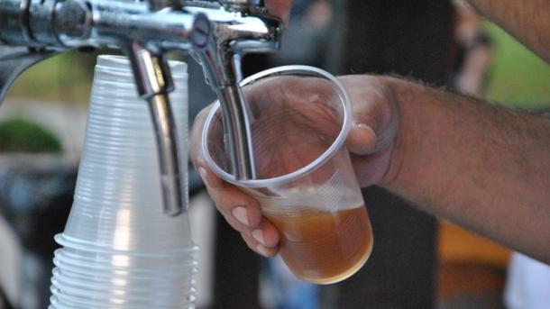 В Мукачево начался фестиваль пива