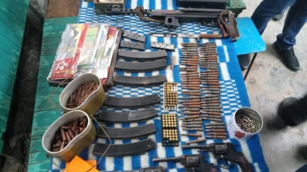 Возле границы с Приднестровьем народный умелец изготавливал у себя на даче пули для огнестрельного оружия