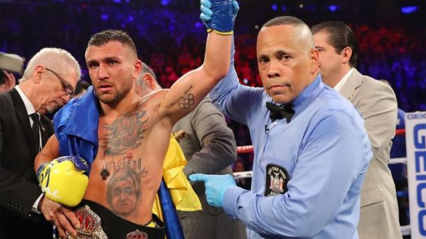 Ломаченко отобрал у Головкина титул лучшего боксера мира