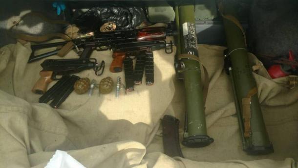 На Киевщине член общественной организации торговал оружием с Донбасса