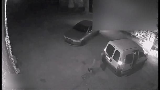 В Нацполиции опубликовали видео ограбления инкассаторов в Одессе