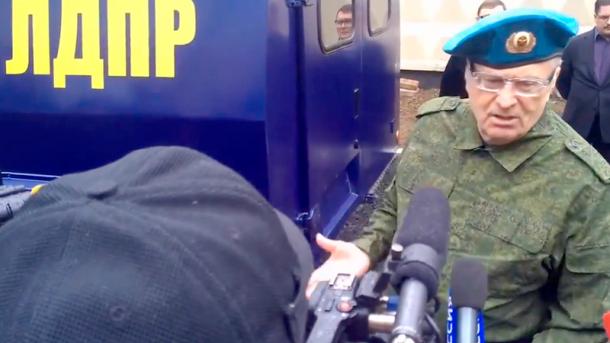 СБУ зовет Жириновского на допрос в качестве подозреваемого