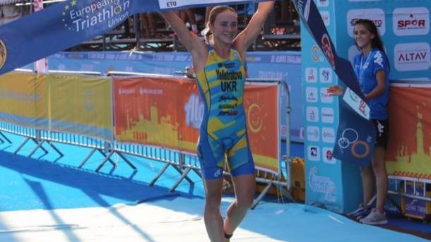 Украинка завоевала золото Кубка Европы по триатлону