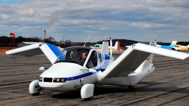 Первый в мире летающий автомобиль можно будет заказать в октябре