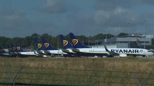 Ryanair отменил 250 рейсов из-за забастовки в Европе