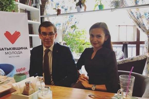"""Результат пошуку зображень за запитом """"Політконсультант Анне Бикова заявила у Facebook, що одним з авторів передвиборчої брошури Юлії Тимошенко під назвою Нова Конституція є її чоловік,"""""""