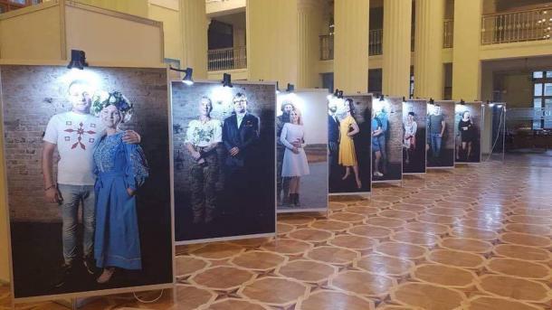 В Киеве начался танцевальный проект ко Дню защитника Украины
