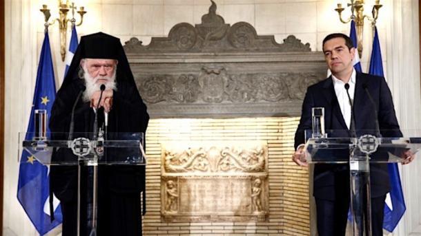 Разграничить церковь и государство: Греция хочет отменить зарплату 10 тысячам священников