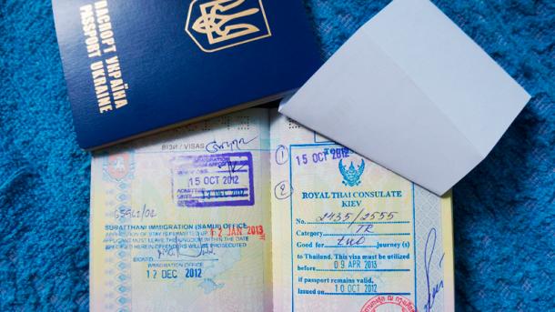 Таиланд отменил визовый сбор для украинцев на два месяца