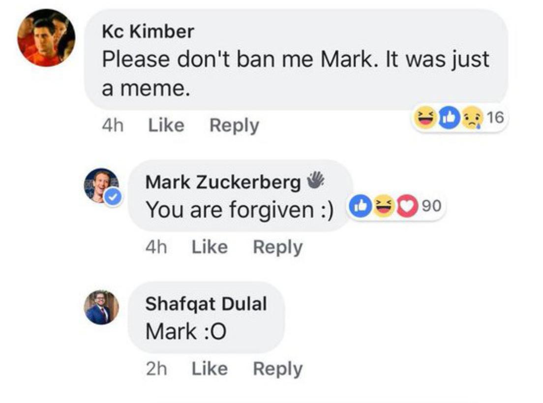 """Цукерберг вступил в фейсбук-сообщество с шутками о Гарварде. Обещает никого не """"банить"""""""