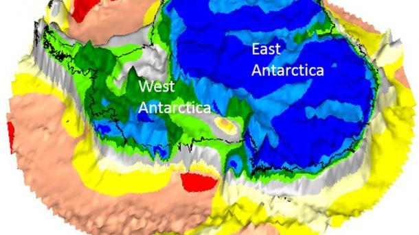 Ученые показали, как выглядит Антарктида без льда