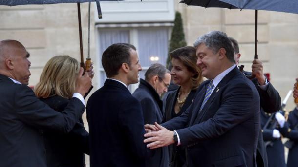Порошенко, Трамп, Меркель и Макрон встретились на церемонии, посвященной 100-й годовщине завершения Первой мировой войны