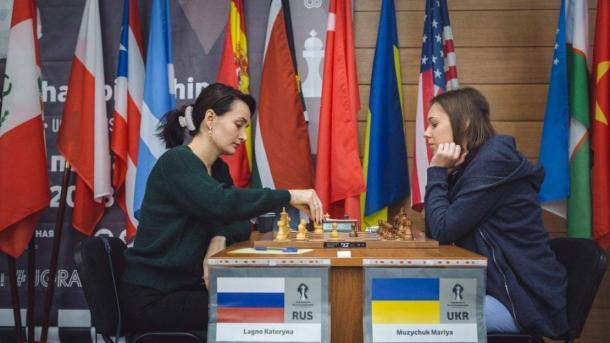 Украинка Музычук и россиянка Лагно определят финалистку ЧМ на тай-брейке