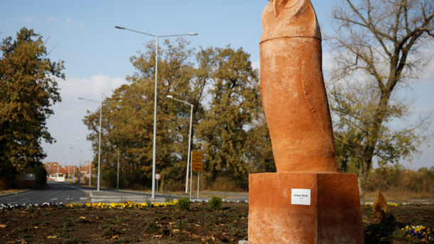"""В Сербии установили """"неприличный"""" памятник сове"""