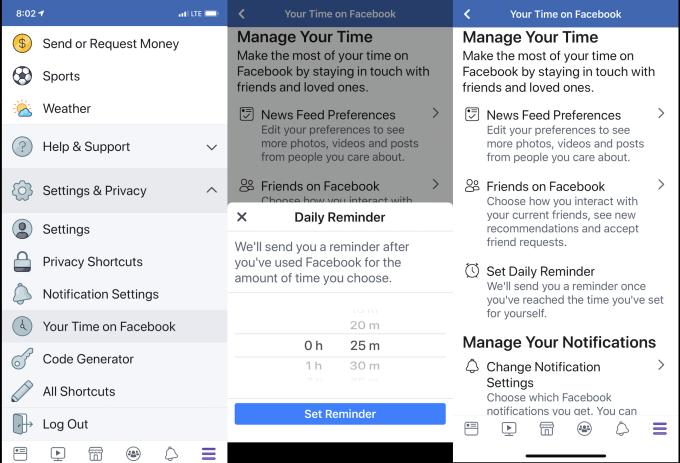"""Facebook почав показувати, скільки часу ви """"сидите"""" у соцмережі"""