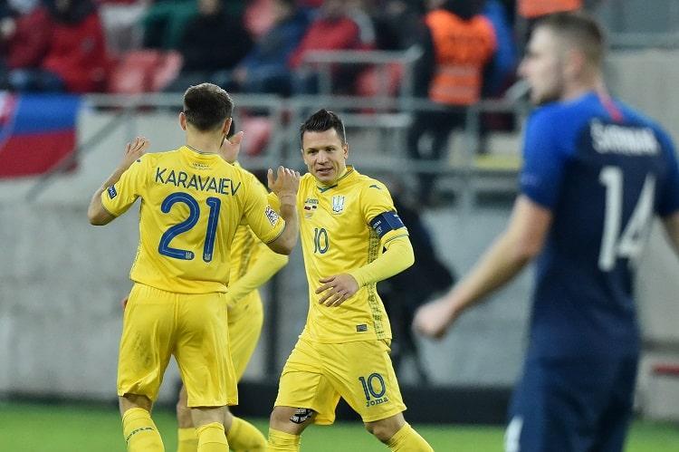 5 главных достижений сборной Украины в 2018 году
