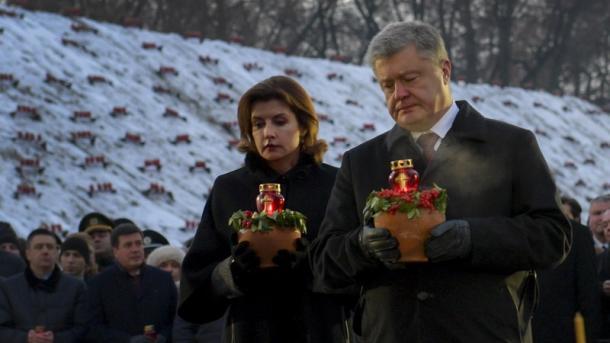 Историческая ответственность за Голодомор лежит на РФ, - Порошенко