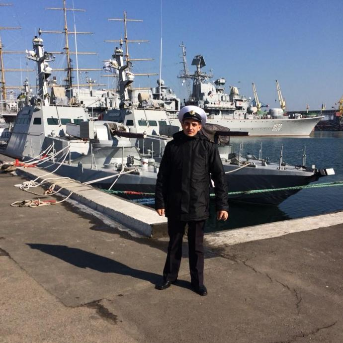 Андрій Артеменко, український поранений моряк, якого РФ захопила у полон