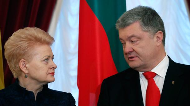 Товарооборот между Украиной и Литвой вырос на 17%, - Порошенко