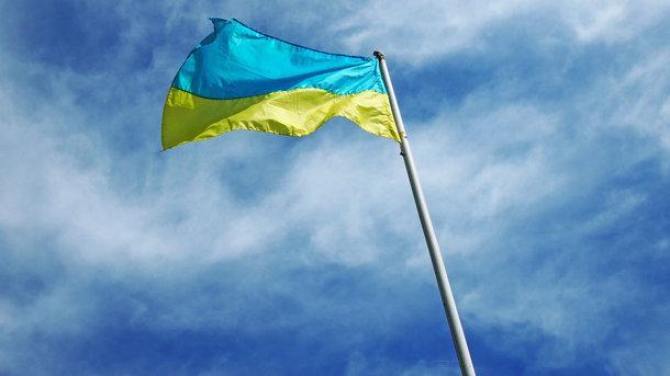 В Крыму подняли флаг Украины в поддержку военнопленных моряков