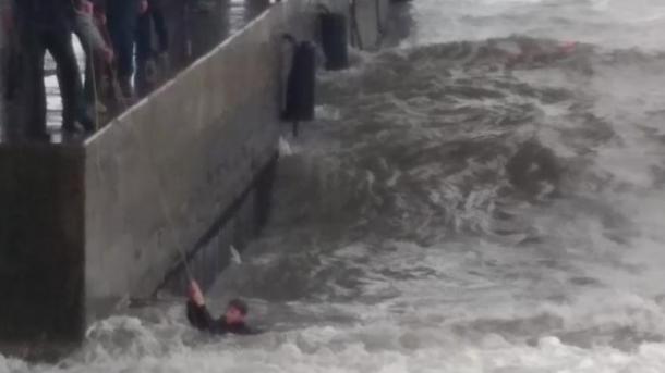 В окупованой Ялте в море смыло 12-летнего подростка