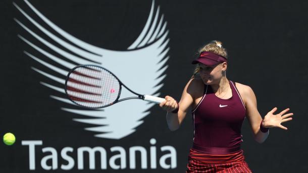 18-летняя украинка отметилась уверенной победой на турнире WTA