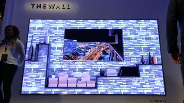 Samsung представила телевизор, который может быть любого размера