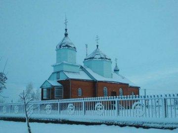 Храм у Красноволі